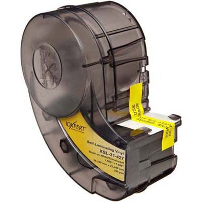 Brady XSL-31-427 IDXpert Wire & Cable Markers Self Laminating 25.40mm x 38.10mm - Labelzone