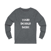 Load image into Gallery viewer, Unisex Jersey Long Sleeve Tee