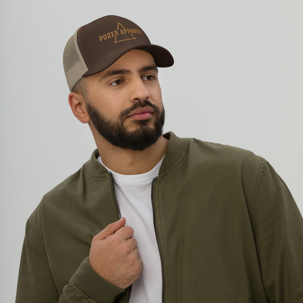 Brown/Beige Trucker Cap