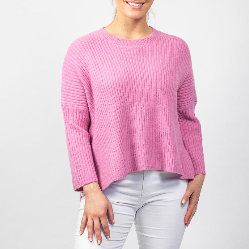RELAXED RIBBED JUMPER