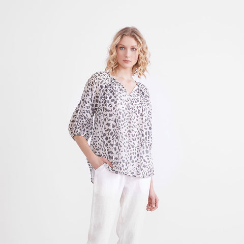 SILVA SPOTTED BLOUSE