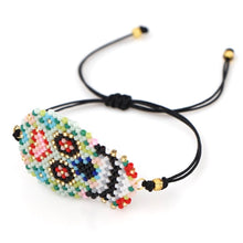 Load image into Gallery viewer, LINK LARGE SKULL BEAD BRACELET