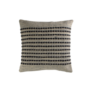 COTTON TUFT CUSHION THREAD, Grey, -