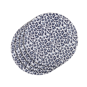 LEOPARD PLACEMAT 35CM SET OF 4