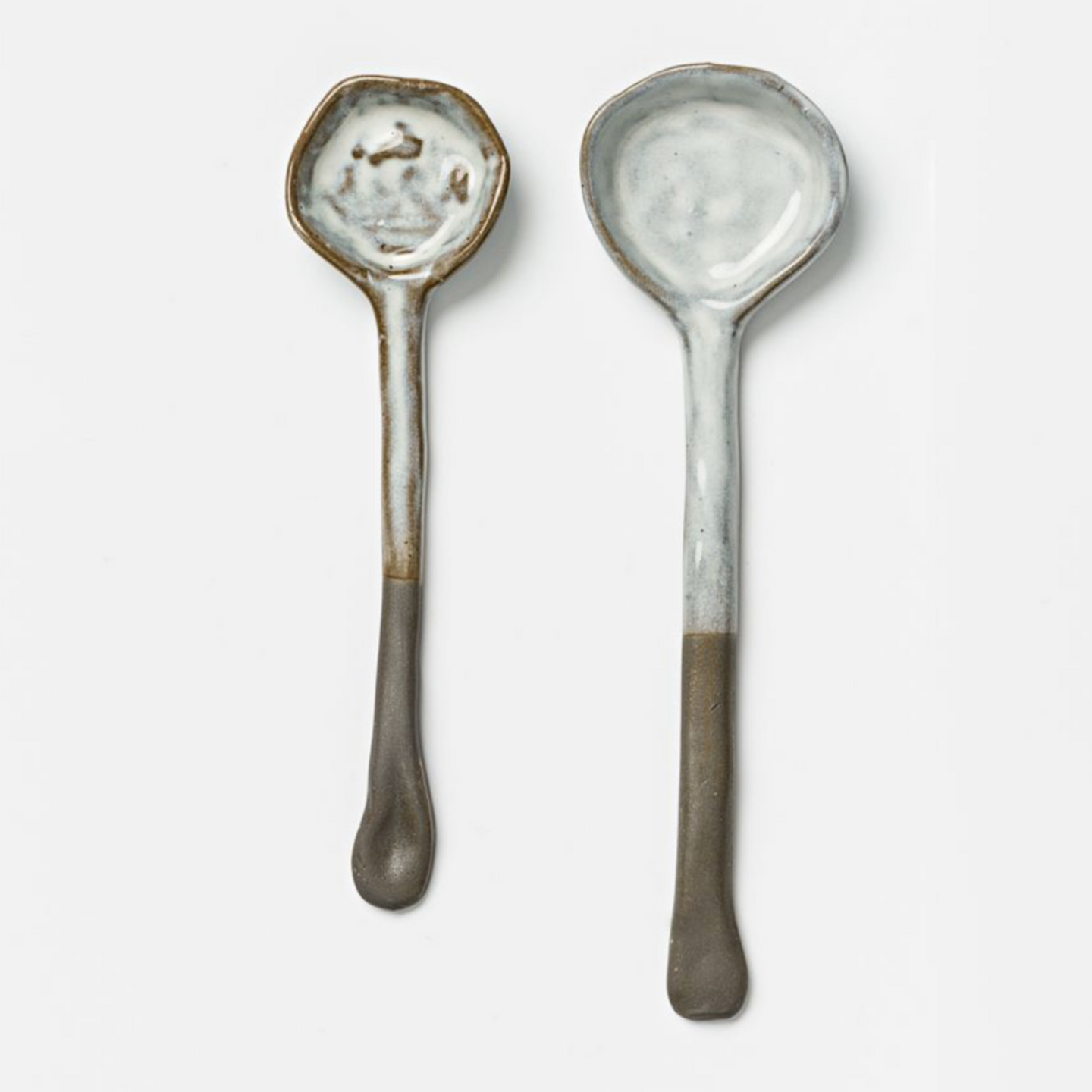 FLINT BISQUE SPOON SET