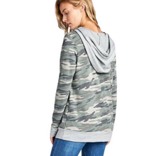 Load image into Gallery viewer, CAMO FRONT POCKET HOODY