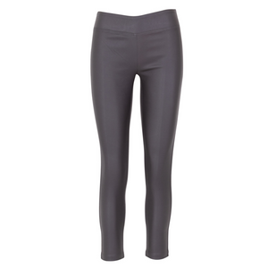 WAX LEGGINGS, Charcoal
