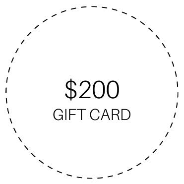 $200 GIFTCARD