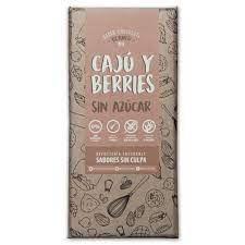 Barra de chocolate blanco caju berries