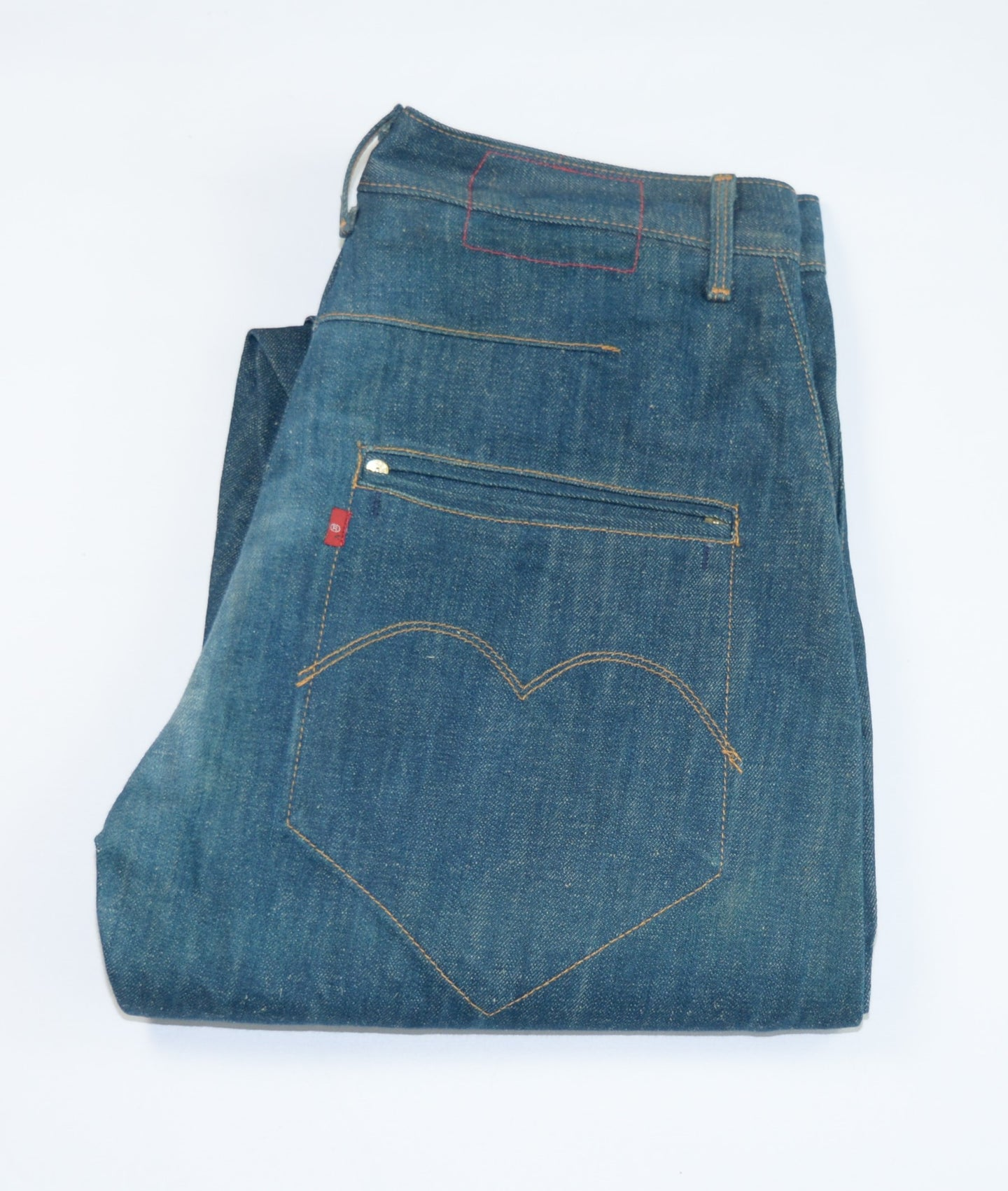Levi's (Engineerd) - 10th anniversary edition 488/549 - Selvedge (Hemp) - Size 32/32