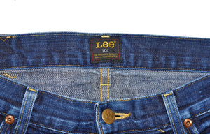 Lee101 - Rider 101Z - lot. 89 Selvedge - Size 32/shorts