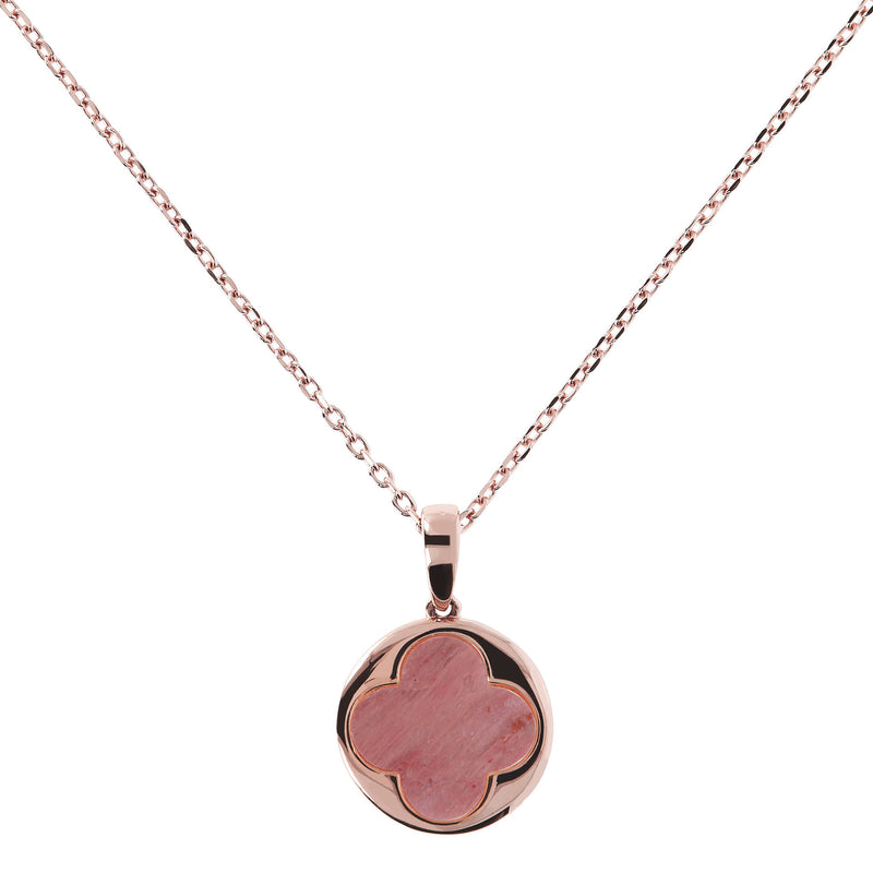 Big-Four-Leaf-Clover-Charm-Necklace_necklaces_red_RDW