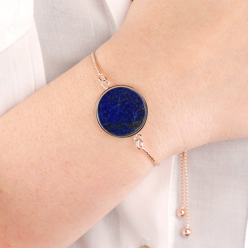 Disc-Friendship-Bracelet-with-Genuine-Gemstones_bracciali_blu_5