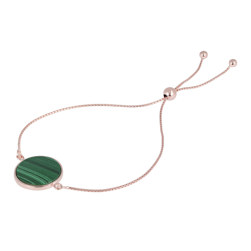 Disc-Friendship-Bracelet-with-Genuine-Gemstones_bracciali_verde_3