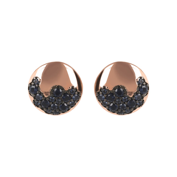 Golden-Rosé-and-Pavé-Stud-Earrings_earrings_grey