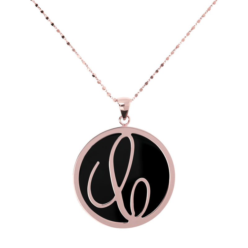 "Large-Custom-Initial-""Z""-Pendant-Necklace-with-Black-Onyx_necklaces_black_C"