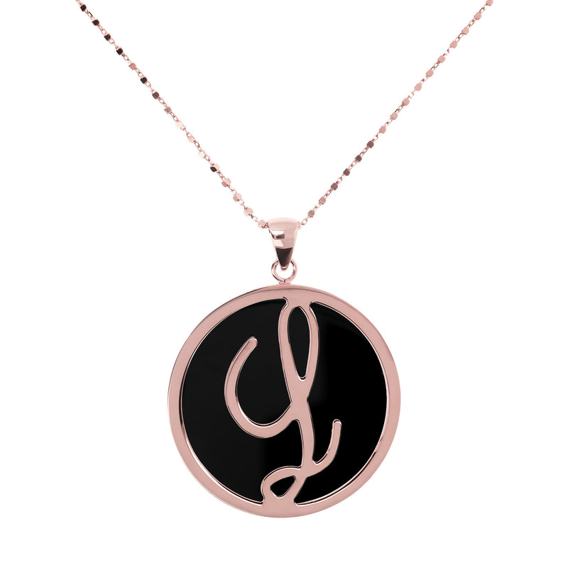 "Large-Custom-Initial-""Z""-Pendant-Necklace-with-Black-Onyx_necklaces_black_L"