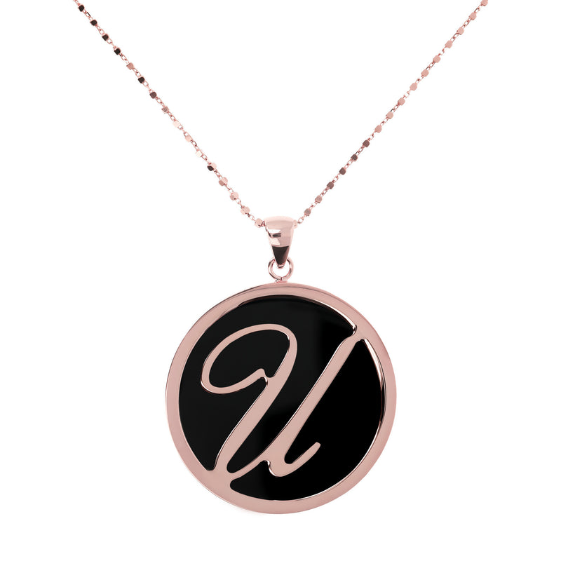"Large-Custom-Initial-""Z""-Pendant-Necklace-with-Black-Onyx_necklaces_black_U"