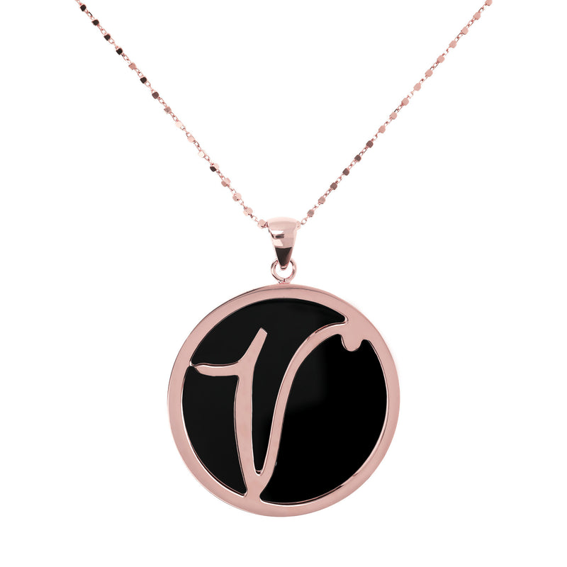 "Large-Custom-Initial-""Z""-Pendant-Necklace-with-Black-Onyx_necklaces_black_V"