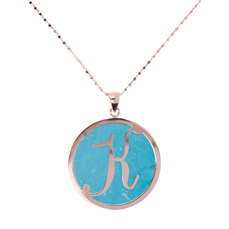 "Large-Custom-Initial-""Z""-Pendant-Necklace-with-Magnesite_necklaces_light-blue_K"
