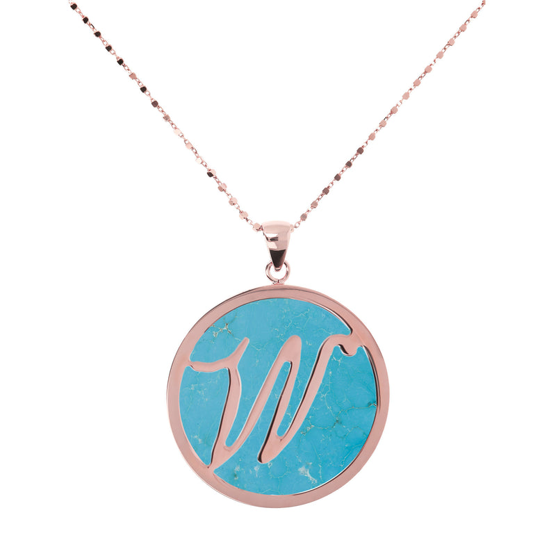 "Large-Custom-Initial-""Z""-Pendant-Necklace-with-Magnesite_necklaces_light-blue_W"