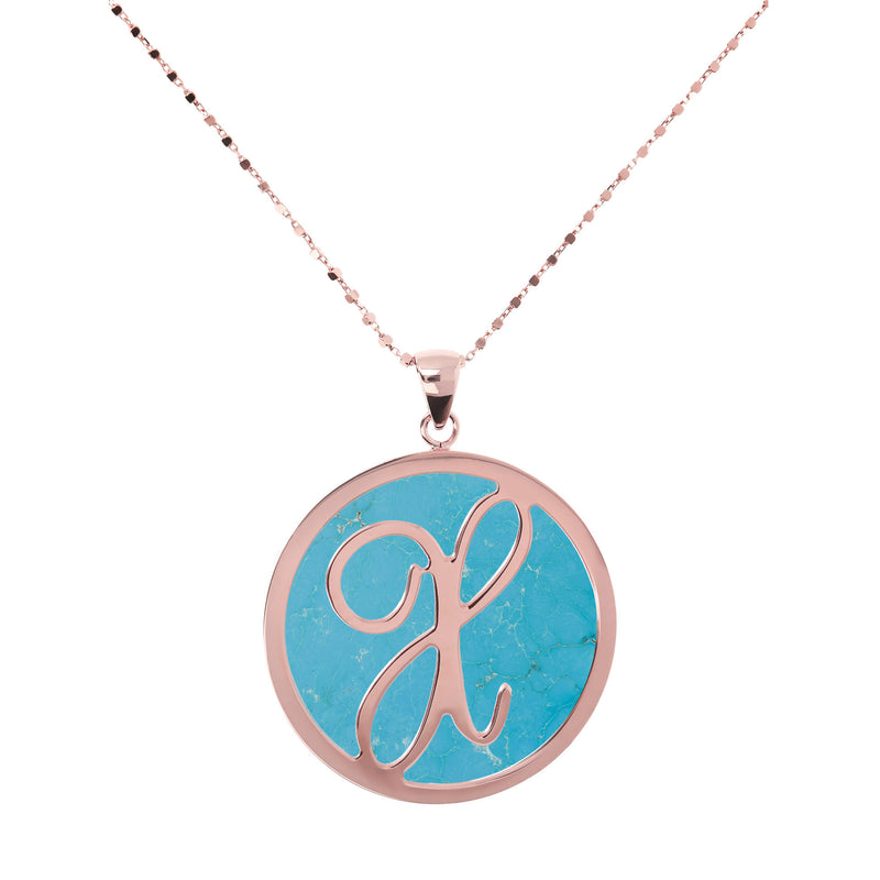 "Large-Custom-Initial-""Z""-Pendant-Necklace-with-Magnesite_necklaces_light-blue_X"