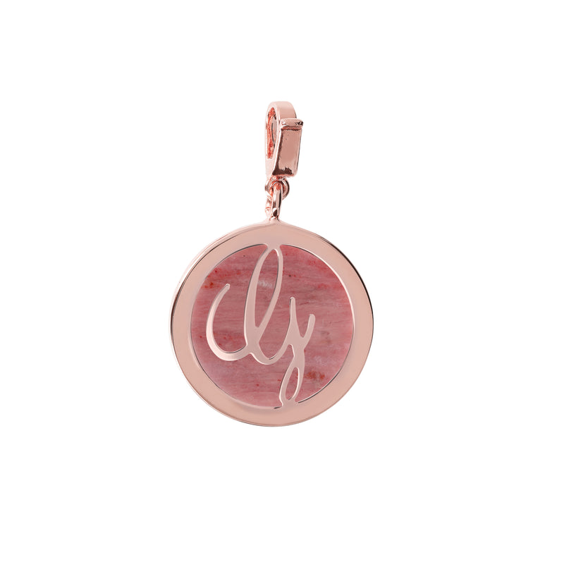 "Letter-""Y""-Charm-in-Rhodonite_charms_red_G"