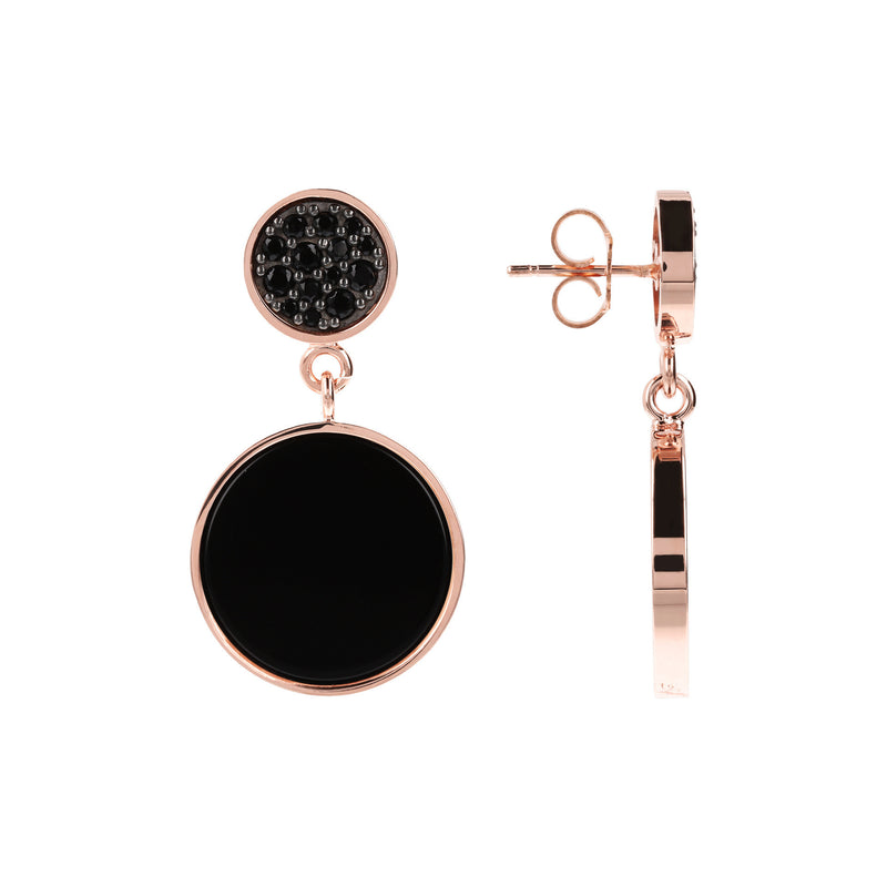 Round-Stone-and-Pavé-Dangle-Earrings_earrings_blackblack_1