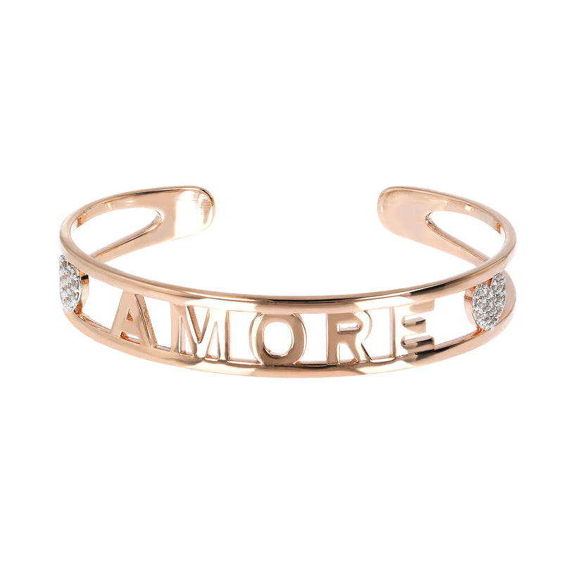 Cubic Zirconia Amore Bangle