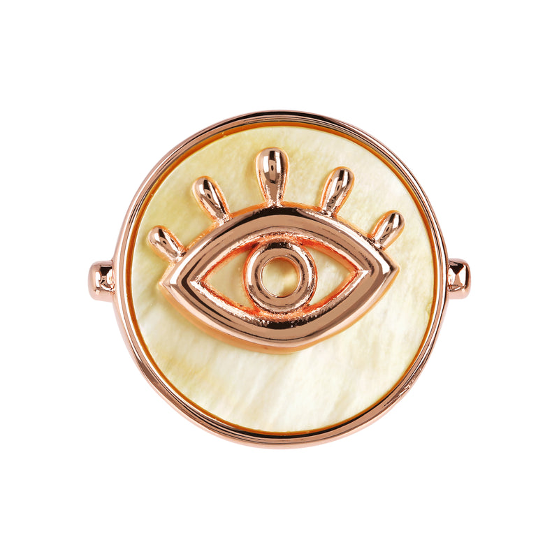 Yellow-Mother-of-Pearl-Disc-Ring-with-Eye_rings_yellow_1