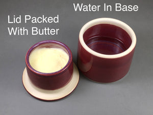 French Butter Dish, Butter Crock