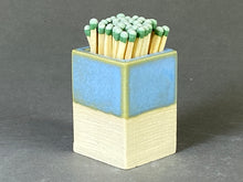 Load image into Gallery viewer, Powder Blue Matchstick Holder