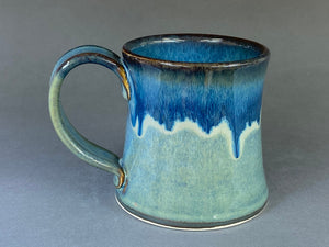 10-11oz Mug, Greenish-Blue