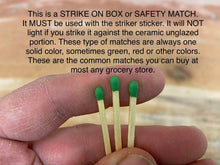 Load image into Gallery viewer, Sage Green Matchstick Holder