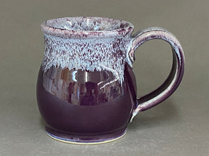 11-12 oz Mug, Purple/ White