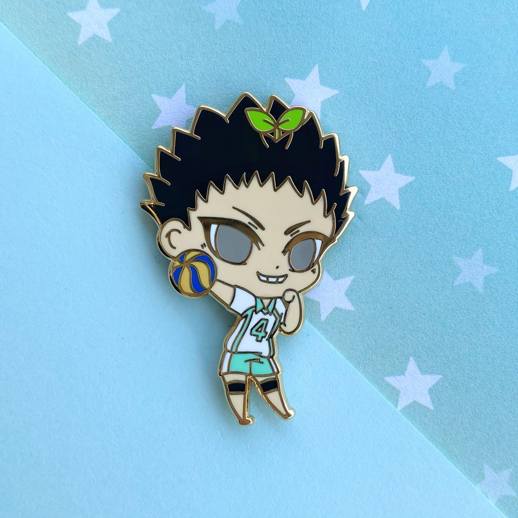 Plant-chan~ Volley Boy Pin