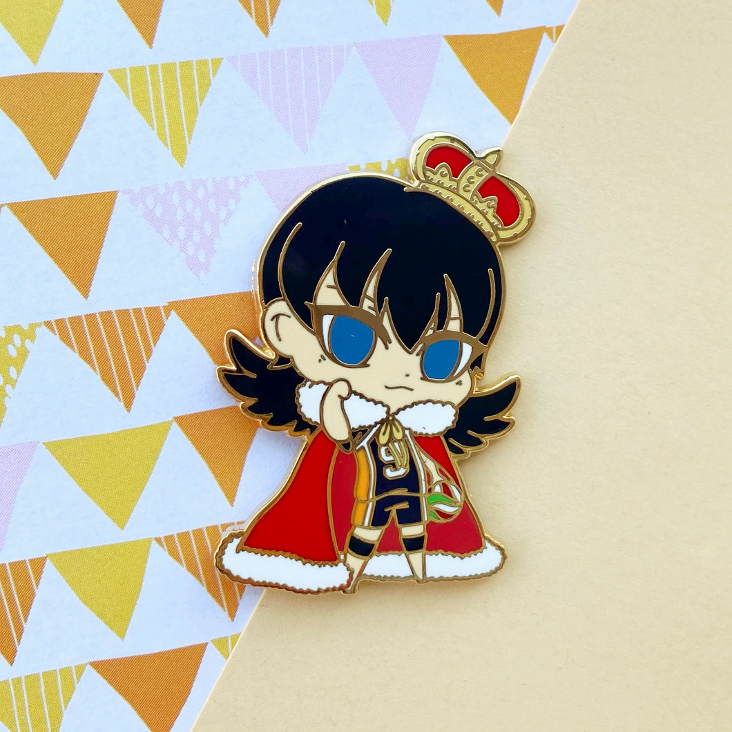 King Crow Volley Boy Pin