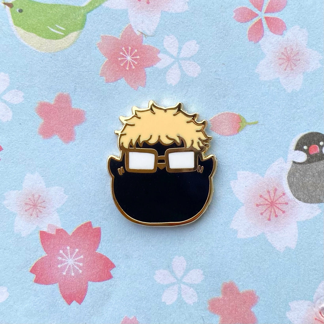 Salty Baby Crow Pin