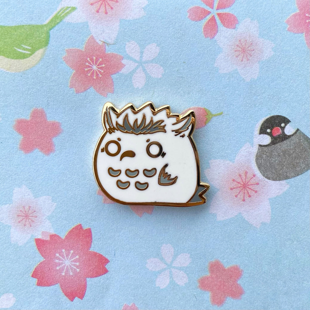 Hey Hey Hey Owl Pin
