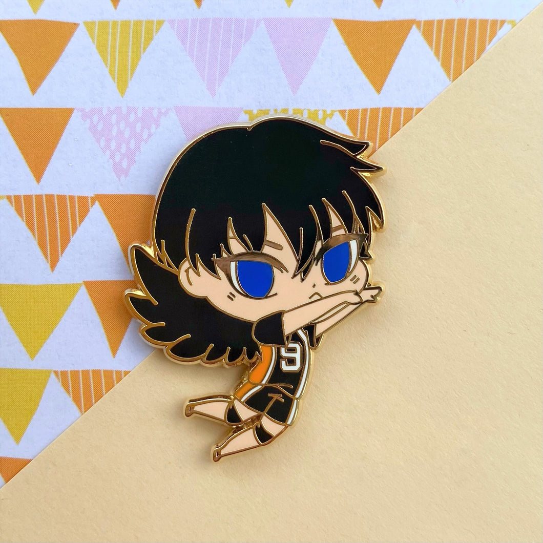 King Crow Action Volley Boy Pin