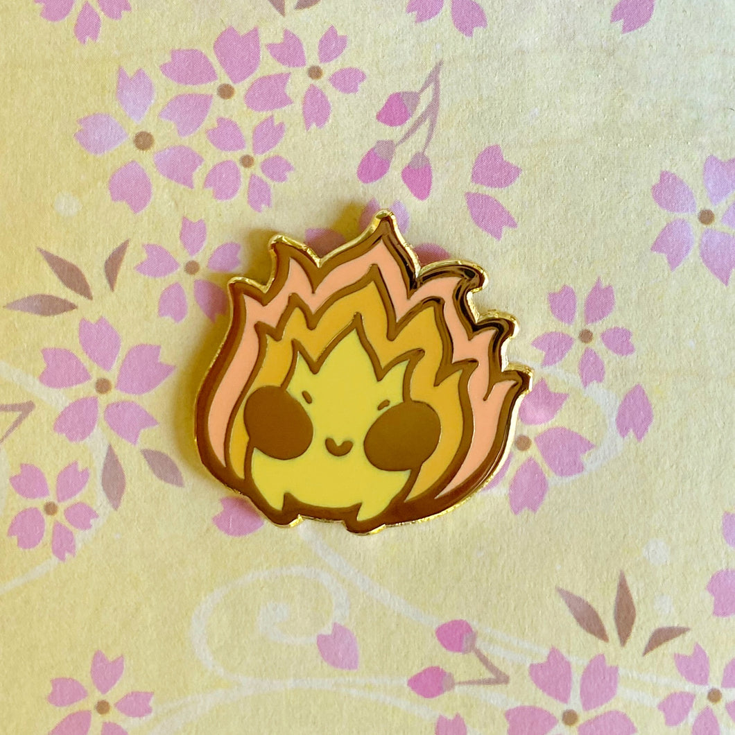 Small Fireball Pin