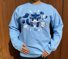 Load image into Gallery viewer, Kitty Surprise Unisex Crewneck Sweatshirt