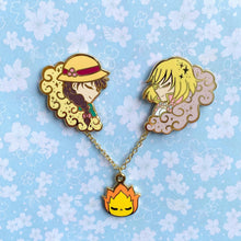 Load image into Gallery viewer, Whimsical Lovers Day Version Collar Pins
