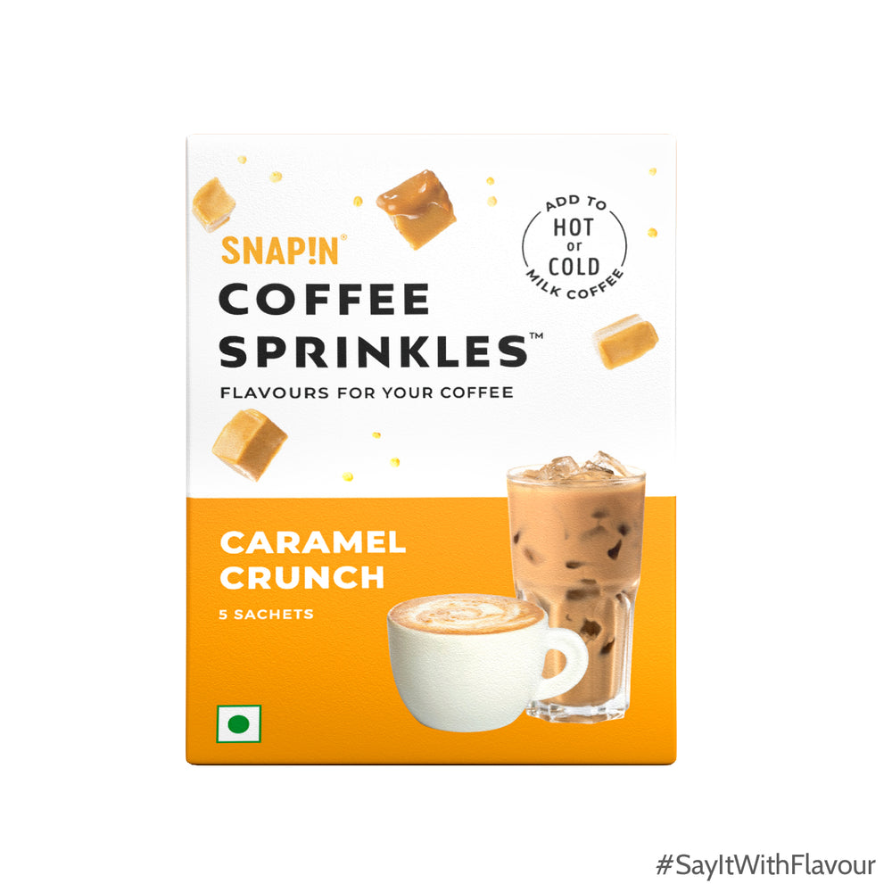 Coffee Sprinkles - Caramel Crunch