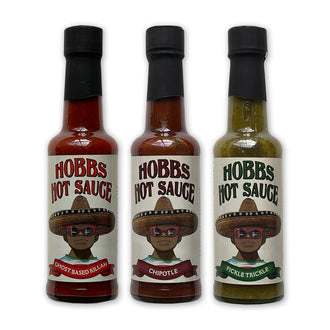 Hobbs Hot Sauce Set
