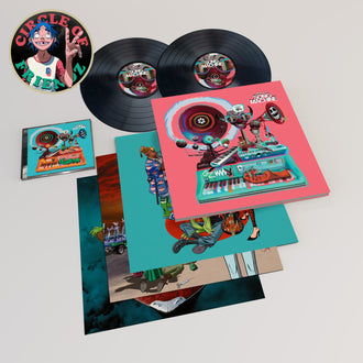 Gorillaz Presents Song Machine, Season One Limited Deluxe Vinyl + Circle of Friendz Pass
