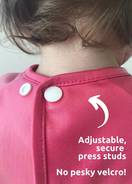 Little Chomps smock bib - adjustable neck