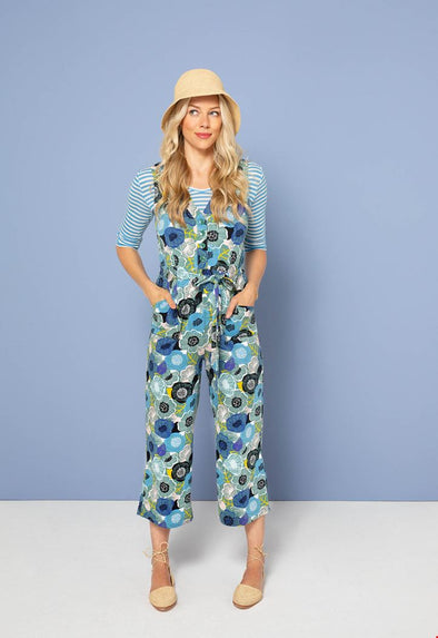 Zilch Flowerfield Porcelain Jumpsuit