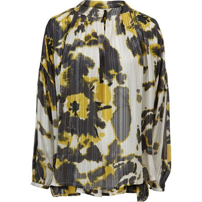 Masai BADOT Yellow Patterned Top