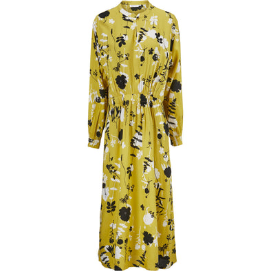 Masai NISSA Yellow Print Dress